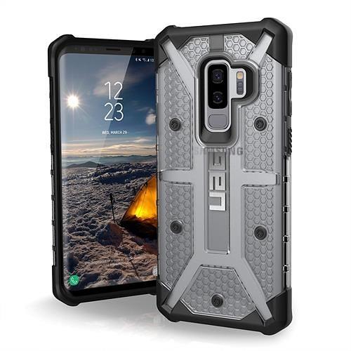 【美國代購】UAG專為三星Galaxy S9 Plus設計 軍用摔落測試手機殼 銀黑