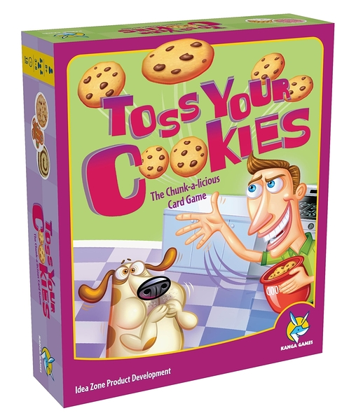 【KANGA GAMES】餅乾大戰 Toss Your Cookies 家庭益智派對桌上遊戲 中英版