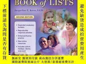 二手書博民逛書店The罕見ESL ELL Teacher s Book of Lists, 2nd EditionY41001
