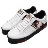 Royal Elastics 休閒鞋 Icon 白 黑 皇家LOGO 無鞋帶設計 皮革鞋面 女鞋【PUMP306】 92081092