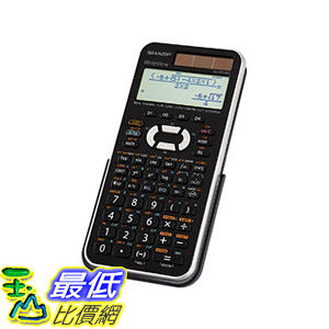 [104美國直購] 科學計算器 Sharp Scientific Calculator Black SHR ELW516XBSL