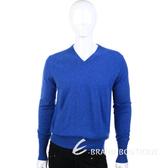 BALLANTYNE 100% CASHMERE V領長袖毛衣(寶藍色) 1340395-23