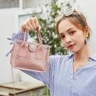 果凍包夏天透明小包包女新款潮時尚手提包果凍仙女包百搭單肩斜背包【凱斯盾】
