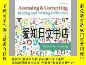 二手書博民逛書店【罕見】Assessing and Correcting Reading and Writing Difficul