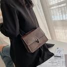鏈條小包包女包時尚高級感百搭側背斜背包潮【極簡生活】