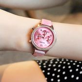 618好康鉅惠手錶水?皮帶韓版潮流時尚學生防水石英錶