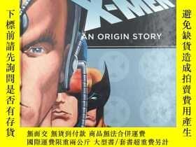 二手書博民逛書店THE罕見UNGANNY X-MEN AN ORIGIN STO