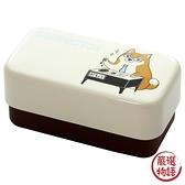 【日本製】漆器便當盒 柴犬部長圖案 SD-6784 - 日本製