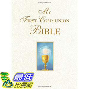 [106美國直購] 2017美國暢銷兒童書 My First Communion Bible Hardcover