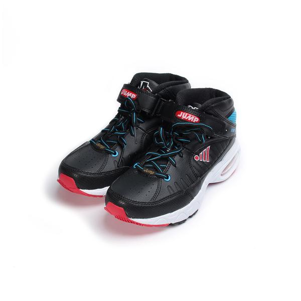 JUMP 高筒籃球鞋 黑 5028B 中大童