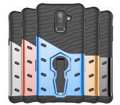 King*Shop~三星手機殼J6 J82018戰甲NOTE8.9創意新款二合一防摔旋轉支架S8 S9Plus手機保護套A6Plus