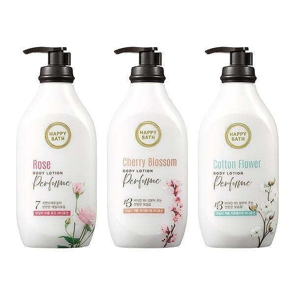 韓國 Happy Bath 純淨香水身體乳(450g) 款式可選)【小三美日】