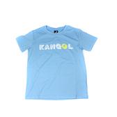 KANGOL 童裝 短袖T恤 淺藍色 字母設計LOGO 6126500981 noG55