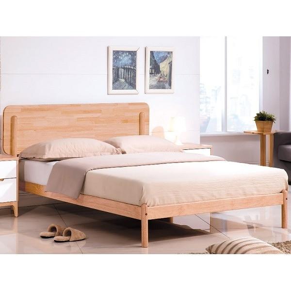 床架 床台 TV-155-7 羅德北歐本色5尺床台 (不含床墊) 【大眾家居舘】