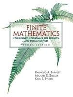 二手書《Finite Mathematics: For Business Economics Life Sciences and Social Sciences》 R2Y ISBN:0131139622