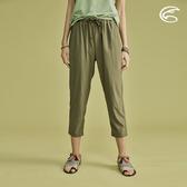 ADISI 女抗UV輕薄吸濕快乾透氣八分褲AP2011042 (S-2XL) / 城市綠洲 (吸濕快乾、防曬、抗紫外線、超薄透)