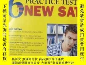 二手書博民逛書店Barron s罕見6 Practice Tests for t