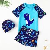 兒童泳衣男童分體游泳衣