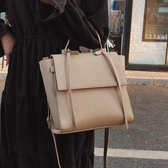 單肩大包包女新款潮韓版百搭斜背包時尚大氣大容量洋氣手提包 雙十二全館免運