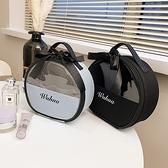 化妝包 化妝包2021新款超火大容量精致時尚高檔女便攜化妝品收納包盒手提 伊蘿 99免運