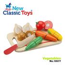 《 荷蘭 New Classic Toys 》木製廚具 - 蔬食切切樂8件組 / JOYBUS玩具百貨