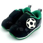 《7+1童鞋》ASICS 亞瑟士 Sports Pack Baby 奧運童趣 足球 輕量運動鞋 慢跑鞋 5166 黑色