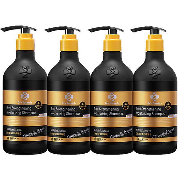 《台塑生醫》Dr's Formula髮根強化洗髮精-潤澤感(升級版)580g*4入