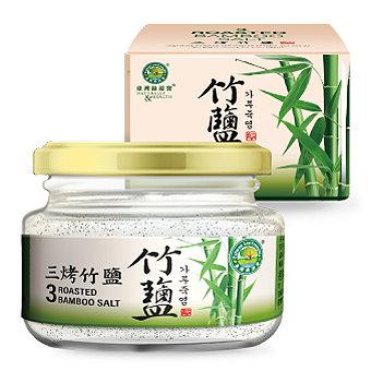 綠源寶~三烤竹鹽110公克/罐