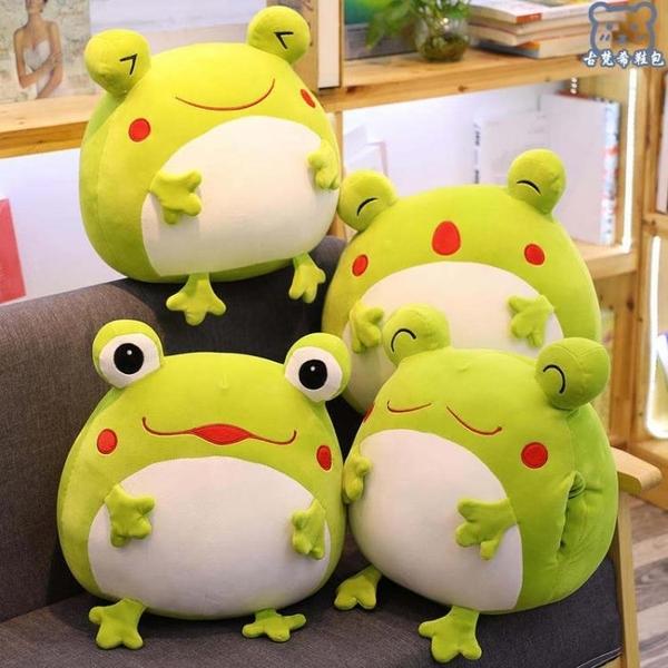 暖手抱枕 小青蛙毛絨玩具公仔女生學生冬季冬天可愛手捂插手捂手枕 - 古梵希