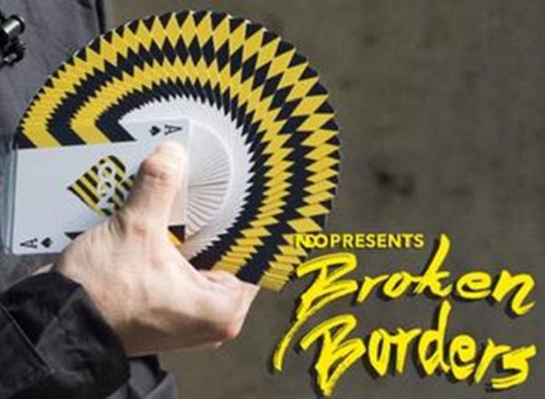 【USPCC 撲克】Broken Borders Playing Cards 撲克牌