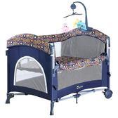 嬰兒床 可摺疊多功能歐式便攜游戲寶寶兒童床蚊帳igo