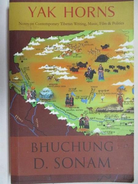 【書寶二手書T1/原文小說_BEF】Bhuchung D. Sonam_Yak Horns