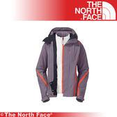 【The North Face 女 HV Heatseeker 兩件式外套《灰石藍》】A7HX-D3R/防水/透氣/滑雪外套/保暖/抗寒★滿額送