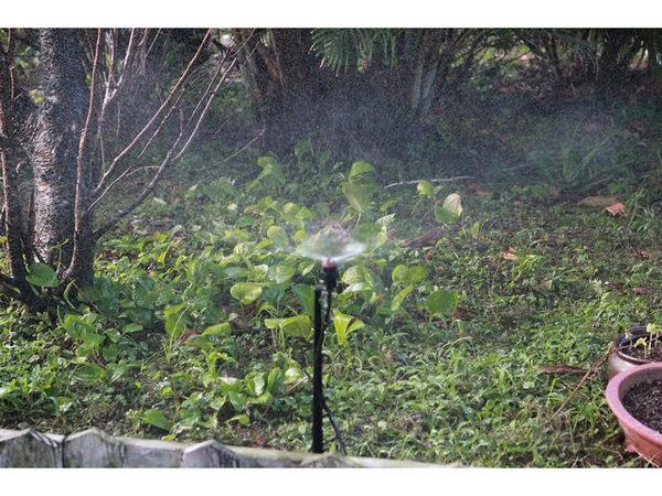 微霧180度大範圍噴頭16mm雙通接頭6個