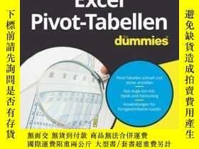 二手書博民逛書店Excel罕見Pivot-Tabellen für DummiesY410016 Martin Wei? I