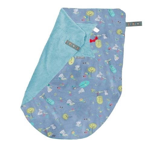 Cheeky Chompers-Cheeky Blanket 袋鼠搓搓被(牛仔泰迪)[衛立兒生活館]