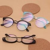 鏡框(半框)-時尚潮流百搭流行男女平光眼鏡6色73oe15【巴黎精品】
