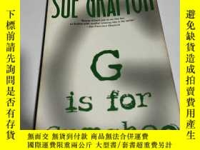 二手書博民逛書店SUE罕見GRAFTON G is for Gumshoe(英文