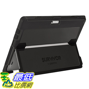 [美國直購] Griffin GB42147 立架式 保護殼 Surface Pro 4 Case, Survivor Slim Protective Case