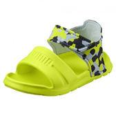Puma Wild Sandal Injex Camo Inf 螢光綠 黑灰豹 涼鞋 小童 36508201 -SP-