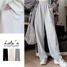 LULUS【A04200247】Y細坑條磨毛休閒褲3色
