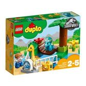 LEGO 樂高 DUPLO Jurassic World Gentle Giants Petting Zoo 10879 24 pieces
