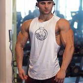 新款速干肌肉型男兄弟健身健美運動訓練無袖背心寬鬆坎肩T恤潮款
