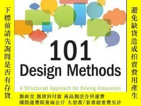 二手書博民逛書店101罕見Design Methods: A Structured Approach for Driving In