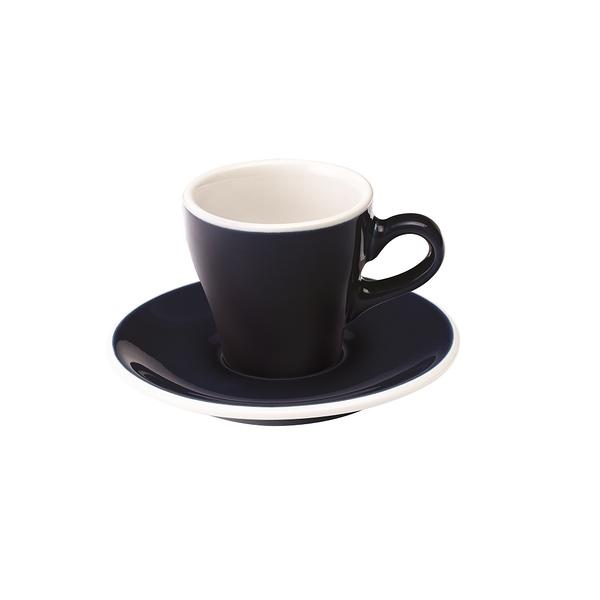 Loveramics Coffee Pro-Tulip濃縮咖啡杯盤組80ml(丹寧)