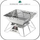 《飛翔無線3C》LOGOS 81064162 TAKIBI-L 紅標焚火台│公司貨│戶外露營 郊外野餐 不鏽鋼