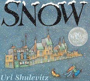 【麥克書店】SNOW /英文繪本附CD (得獎繪本)
