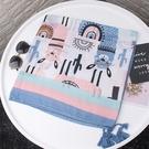 棉紗卡通圖案流蘇四季圍巾絲巾 獨具衣格 H618