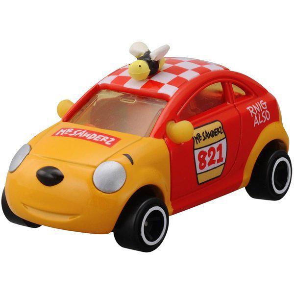 【震撼精品百貨】Winnie the Pooh 小熊維尼~TOMICA 迪士尼小汽車 10週年夢幻維尼車 DMA-02#48385