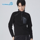 TERNUA 男Power Stretch半門襟彈性保暖中層衣1206560 ( 登山 露營 旅遊健行)